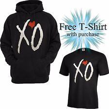 XO THE WEEKND hoodie Hooded Sweatshirt XO TILL OVOXO THE WEEKND Free Shirt W/P