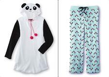 Womens Panda Bear Nightgown or Pajama Pants Fleece Winter XL-Plus Size 1X-2X NEW