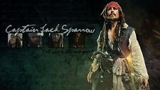 61782 Jack Sparrow Wall Print Poster CA