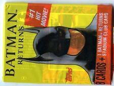 BOOSTER - BATMAN RETURNS 9 cartes ( Neuf )