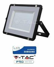 Faretto Nero led da esterno 300W Ultrasottile Chip Samsung V-TAC PRO VT-300