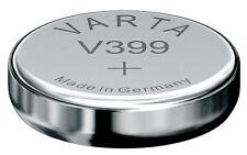 10x v399 relojes batería pilas de botón = sr57w sr927w fabricante Varta