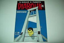 DIABOLIK R SERIE BIANCA-PRIMA RISTAMPA-NUMERO 558-GIUSTIZIATO!-17/12/2007-OTTIMO