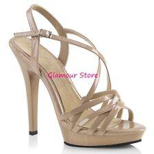 Sexy SANDALI tacco 13 dal 35 al 42 plateau 5 COLORI cinturino scarpe GLAMOUR 2eb5914f1ea