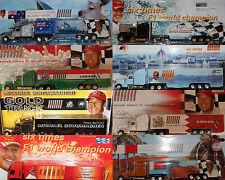 Truck Collection Sammlerstück LKW MICHAEL SCHUMACHER Sammler Werbetruck OVP