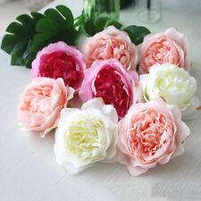 10pcs High Simulation Core Peony Flower Rose Decoration Background Wall Wedding