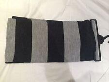 New Wide Stripe Scarf 2 Colours Free P&P