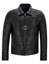 LOOPER Movie Joseph Gordon Levitt Leather Jacket Replica Black by Character Joe
