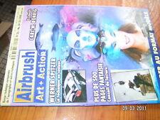Airbrush Art + Action n°34 Showroom technique matériel