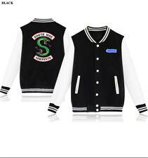Serpent of Riverdale Baseball Coat Southside Serpents Uniform Mens Womens Jacket