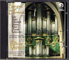 SONGES ET ELEMENS Organ OLIVIER VERNET Lully Rameau Rebel Glerambault Grigny CD