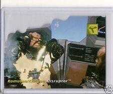 Star Trek 30th Ann. Phase 1 D3 Die-Cut Tech. card