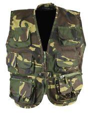 KIDS ARMY VEST RIPSTOP WAISTCOAT BOYS 3-13 CHILDRENS DRESS UP FANCY DRESS DPM