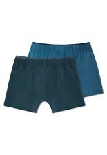 SCHIESSER Jungen Hip-Retro Shorts 2er Pack XS M L 140-176 95/5 CO/EL Boxershorts