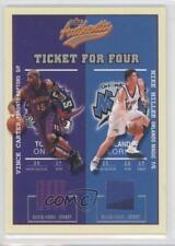 2002-03 #CMRS Vince Carter Mike Miller Quentin Richardson Stromile Swift Card