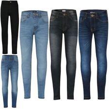 001657a2879e0 Enfants Garçons Jeans Moulant Créateur Élastique Pantalon Compatible avec