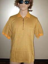 Polo Shirt tamaño M L XL XXL amarillo negro ocio recreativas camisa hayler nuevo
