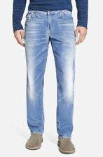 True Religion Jeans Men's Indigo Corduroy Big T Pants Dusty Blue MDVE08NMD8