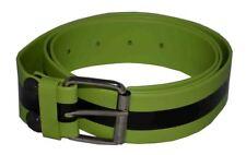 Flosay Shining Bright Snap on Belt Lime Green Black