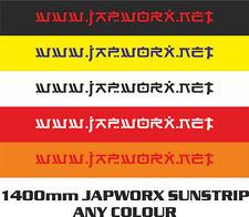 Japworx www.japworx.net Sun Bande Autocollant Voiture JDM Autocollant SUNSTRIP