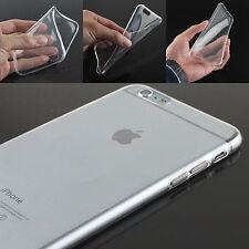 para Iphone 5 6 PLUS 7 Samsung S4 móvil FUNDA PROTECTORA SILICONA TRANSPARENTE