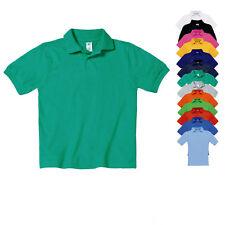 B&C Kinder Polo Polshirt Shirt Safran Kids 110/116 122/128 134/146 152/164 Neu