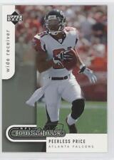2005 Upper Deck NFL Foundations #6 Peerless Price Atlanta Falcons Football Card