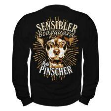 Pullover Sweatshirt Deutscher Pinscher Dogs Rasse Nagetierjäger Wachhunde