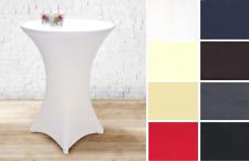 Gözze Stretch-Tischhusse uni für Bistro-/Stehtisch in 11 Farben