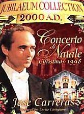 NEW DVD: CONCERTO DI NATALE: CHRISTMAS CONCERT: JOSE CARRERAS: POPE JOHN PAUL
