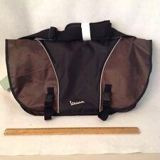 Bike/Messenger Bag Vespa Brown Black  Lap Top Protection VP105319 Reg $99