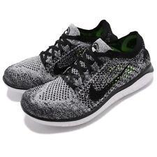 Nike Wmns Free RN Flyknit 2018 Grey Oreo Womens Running Shoe Sneakers 942839-101