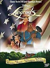 Disney's American Legends (DVD) ~ New & Factory Sealed!