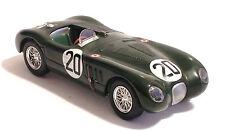 JAGUAR XK 120 C  1:43 - N° 20 WINNER 24hr LE MANS 1951 - DIE CAST MODEL