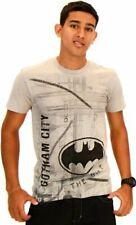 Batman Let It Rain Silver Mens T-Shirt