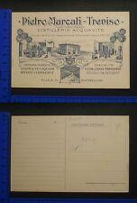 PUBBLICITARIA - PIETRO MARCATI - TREVISO - DISTILLERIA ACQUAVITE 18282
