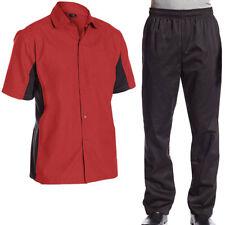 Chef Code Bundle Pack, Cool Breeze Cook Shirt and Elastic Waist Chef Pants
