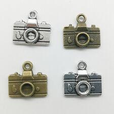 10/30pcs Camera Charms Pendants DIY Jewelry Accs For Bracelet Earrings 14*16mm
