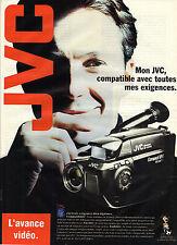 PUBLICITE ADVERTISING  1994   JVC  caméra vidéo