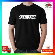 #SHUTDOWN t-shirt t-shirt tee grime Hench gym fresh fit athletic hiphop cadeau