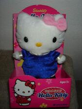 Sanrio Hello Kitty in Blue Velvet Dress Cute & Sweet Plush by Nakajima - Retired