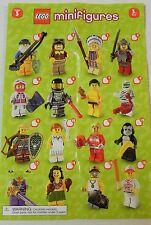 #12 Sealed Foil Pouch Unopened LEGO® SERIES 3-8803-Gorilla Suit Guy-minifigure