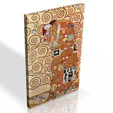 Gustav Klimt Embrace * Top Quality Box Canvas Ready to Hang * A1 A2 A3 Sizes