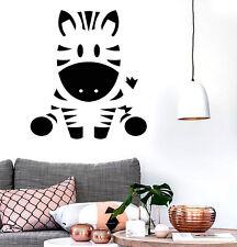 Wall Stickers Vinyl Decal Zebra Animal Funny Decor For Kids Children (z2058)
