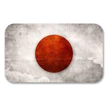 2 x Japan Japanese Flag Vinyl Sticker Laptop Travel Luggage Car #6193