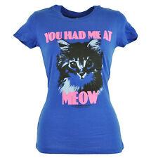 Humane Society Stati Uniti You Had Me At Maoo Adolescenti, Ragazze T-Shirt Blu