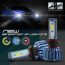 AUTOVISION COB 60w 9006 LED Headlight Bulbs 6000K White Xenon Light Conversion K