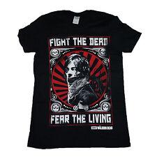 Walking Dead Daryl Dixon Fight Poster OFFICIAL Unisex T-Shirt up to XXL    15D