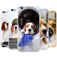 Beagle Dog Snap-on Hard Back Case Phone Cover for Apple Mobile Phones