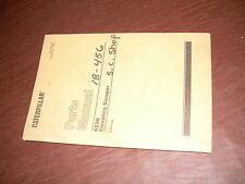 CATERPILLAR CAT 623B 623  ELEVATING SCRAPER PARTS BOOK MANUAL  S/N 61E1-UP
